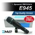 Бесплатная Доставка! 10 шт./лот Лучшие Качества E945 Динамический Супер Кардиоидный Вокальный Проводной Микрофон Караоке микрофон фио microfono е 945
