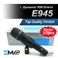 Free Shipping! 10pcs/lots Top Quality E945 Dynamic Super Cardioid Karaoke Vocal Wired Microphone microfone fio microfono e 945