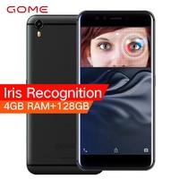 Original GOME K1 4GB RAM 128GB 4G LTE Smartphone 5 2 Inch 1080P Helio P20 MTK6757
