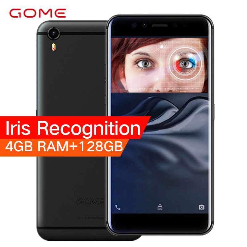 Original GOME K1 4GB RAM 128GB 4G LTE Smartphone 5.2 inch 1080P Helio P20 MTK6757 Octa Core Android 6.0 Touch ID Mobile Phone