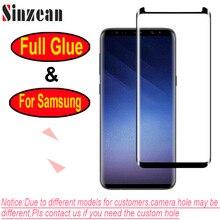 100 Chiếc Cho Samsung S10/S9 Plus/S8/Note 8/Note 9/Note 10 3D full Keo Ốp Lưng Thân Thiện Với Viền Cong Kính Cường Lực Bảo Vệ Màn Hình