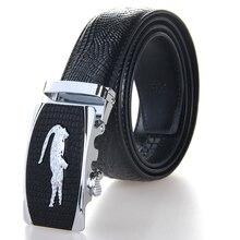 Fashion Mens Belts Luxury Designer High Quality Genuine Leather Man Belt 100% Cow Skin Strap Male Formal Men Crocodile Belt