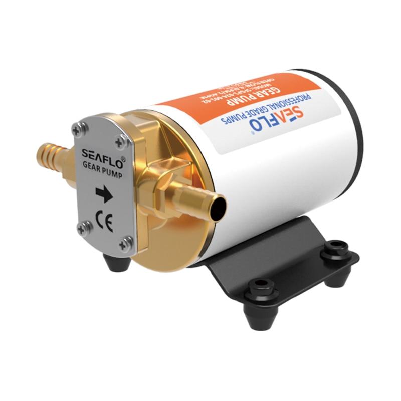 SEAFLO High Pressure Gear Pump 12v 3.2GPM Electric Oil Pump For Diesel Lubricant Viscous Liquids Transfer