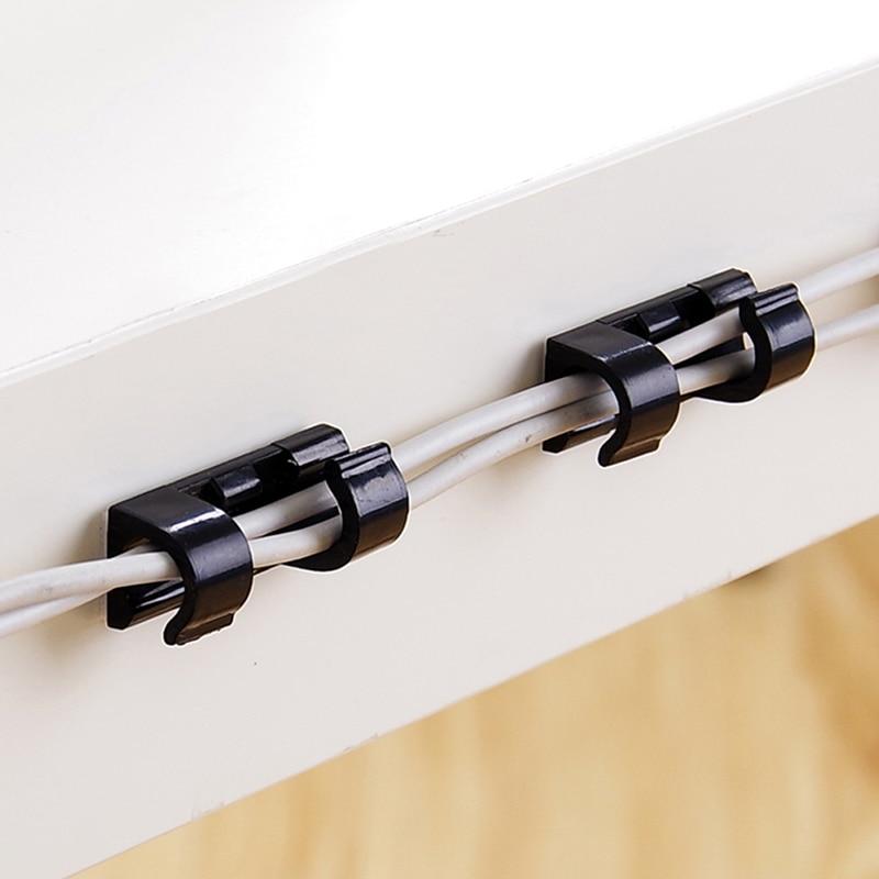 20 шт., пластиковые зажимы для проводов и проводов|Кабельные зажимы| | АлиЭкспресс