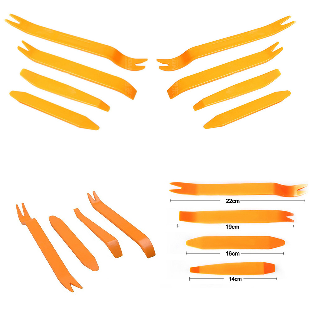 4 Pieces Good Usage Car Disassembly Interior Kit Audio Removal Trim Panel Dashboard Car DVD Player Auto Trim Removal Tool