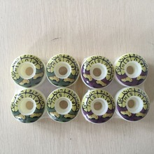 4pcs/Set  52mm  PUSH WHEELS stock wheels COLOR CHANGED SKATEBOARD WHEELS SKATING wheels for special offer with good price