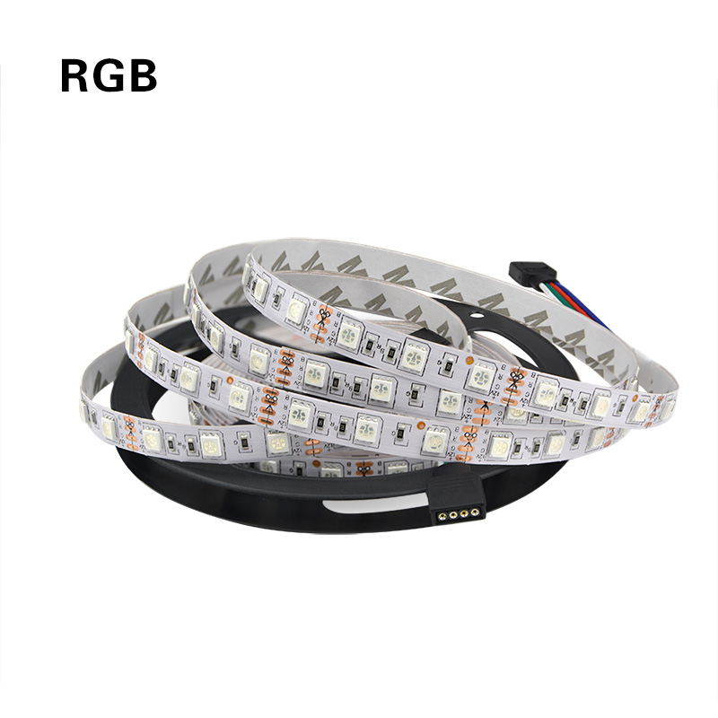 Freeshipping 5M 5050 SMD led strip warm white with 60leds/m 12V non-waterproof flexible led strip light