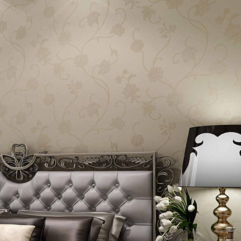 Bedroom Decor Mural Wall Papers Pearly Coating Mural Wall Decals China