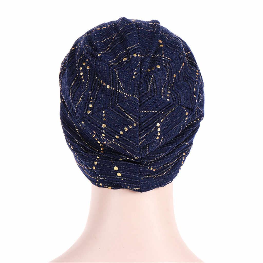 Турбины для женщин мусульманское кружево спереди крест головной убор хиджаб турбан для химиотерапии кепки