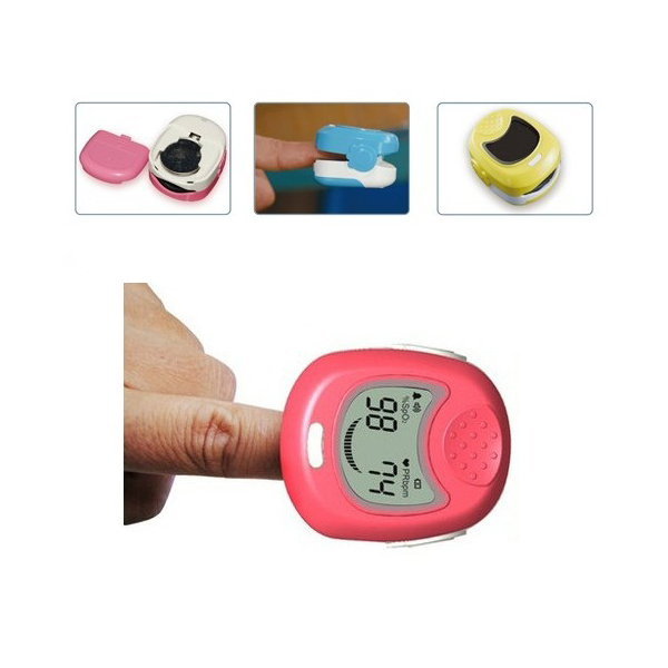 Cute Design For Kid 1-12 years old baby Moniting SPO2 Pulse Rate Oxygen CE Approved Baby Pediatric Fingertip Pulse Oximeter