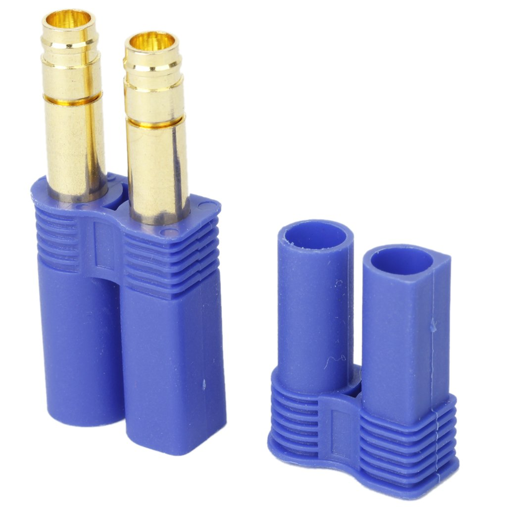 5 Pairs of EC5 Banana Plug Bullet Connector Female+Male for RC ESC LIPO Battery/Motor 20pairs 3 5mm gold plated bullet banana plug connector male female rc battery r06 drop ship