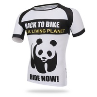 XINTOWN 3D Panda Polyester Cycling Jersey 2017 Quick Dry Racing Bike Clothes Maillot Ropa Ciclismo Men