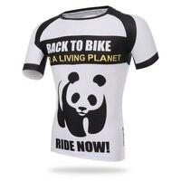 Xintown 3d panda jersey di poliestere ciclismo 2017 quick-dry bici da corsa vestiti maillot ropa ciclismo uomini mtb bicicletta ciclismo usura