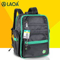 LAOA Tool Backpack Multifunction Thicken Professional Electrician Backpack Travel Bag