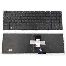 США клавиатура для ноутбука Acer Aspire VN7-572G VN7-572 VN7-572TG VN7-592G VN7-792G серии с подсветкой