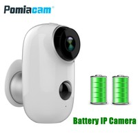 2018 Newest Rechargeable Battery Camera A3 720P Waterproof Outdoor Indoor Wifi IP Camera 2 Way Audio Baby Monitor CCTV Camera
