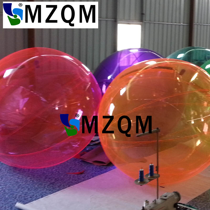 MZQM Free Shipping 2.0m Outdoor Sports Water Walking Ball Zorb Ball Inflatable Water Ball Human Hamster Ball For Sale