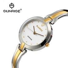 2016 Estilo Simple Clásico de La Nueva Manera Top Famous Lujo marca AMANECER Wome reloj de cuarzo relojes Reloj relogios reloj caliente mujeres