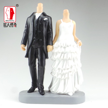 Wedding Cake Topper wedding gift custom avatar personality custom real doll custom clay dolls fixed resin body SR287