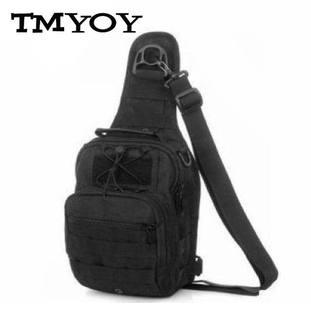 TMYOY qualidade Camouflage amy cor Nylon Pacote Peito Saco de Viagem dos homens Vadear Crossbody Sling sacos Homens Bolsa de Ombro Único RM026
