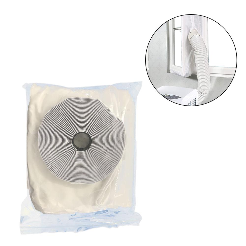 AirLock Window Seal for Mobile Air-Conditioning Units Air Conditioning Soft Sealing Baffle Door Cloth