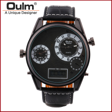 2016 Men Watch Brand Oulm HP3581 High Quality Quartz Watch Men Watch Top Brand Luxury Wristwatch For Women Buckle Fashion Casual