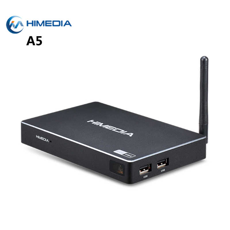 [Echte] Himedia A5 Android 6.0 TV Box Amlogic S912 Octa Core 2GB 16GB 2.4G/ 5G WiFi Bluetooth 4.0 1000M LAN Smart Media Player