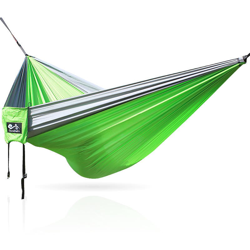 outdoor swing chair bed portable outdoor hammock 2 person(China)
