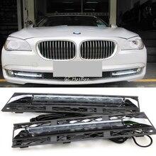 2 шт белые дневные ходовые огни DRL светодиодный противотуманный фонарь для BMW 7 серии F01 F02 730i/740i/750i/760i 2009-2012