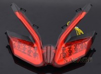 For DUCATI 899 959 1199/S/R 1299 Panigale Motorcycle Integrated LED Tail Light Turn signal Blinker Lamp Red
