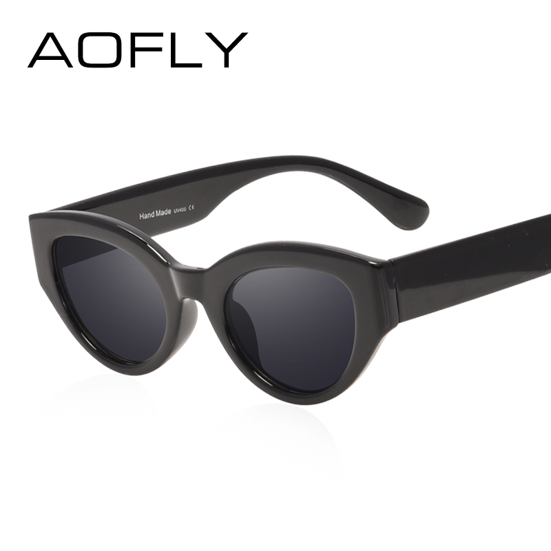 f17ab719bdc AOFLY BRAND DESIGN Cat Eye Sunglasses Women Fashion Ladies Sun Glasses  Female Vintage Shades Oculos de