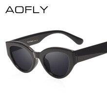 AOFLY BRAND DESIGN Cat Eye Sunglasses Women Fashion Ladies Sun Glasses Female Vintage Shades Oculos de sol Feminino UV400 AF2540