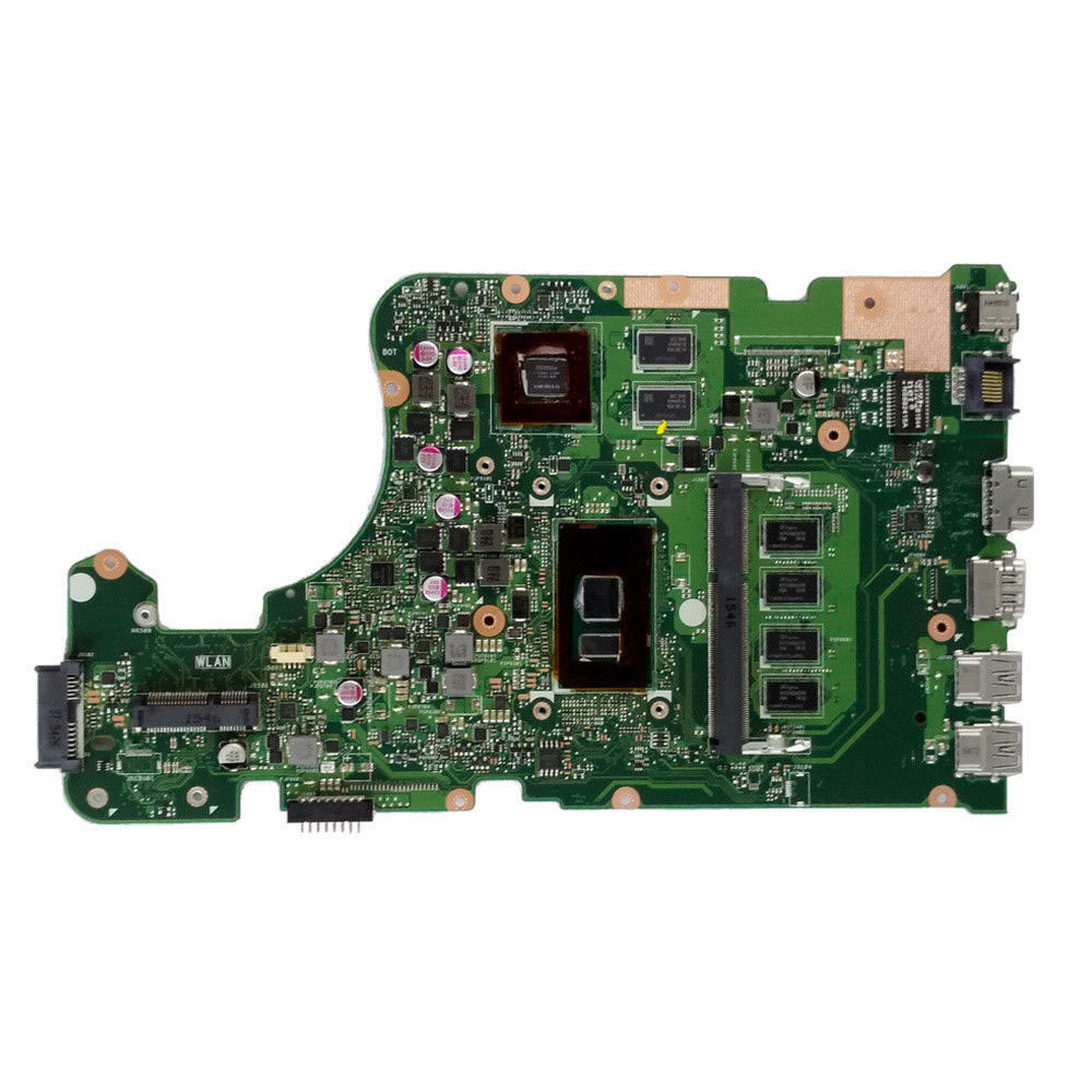 X555UJ REV:2.0 Laptop Motherboard For Asus A555U K555U V555U X555U X555UJ X555UF X555UQ with 4GB RAM I3-6100 i5-6200 i7-6500 cpu