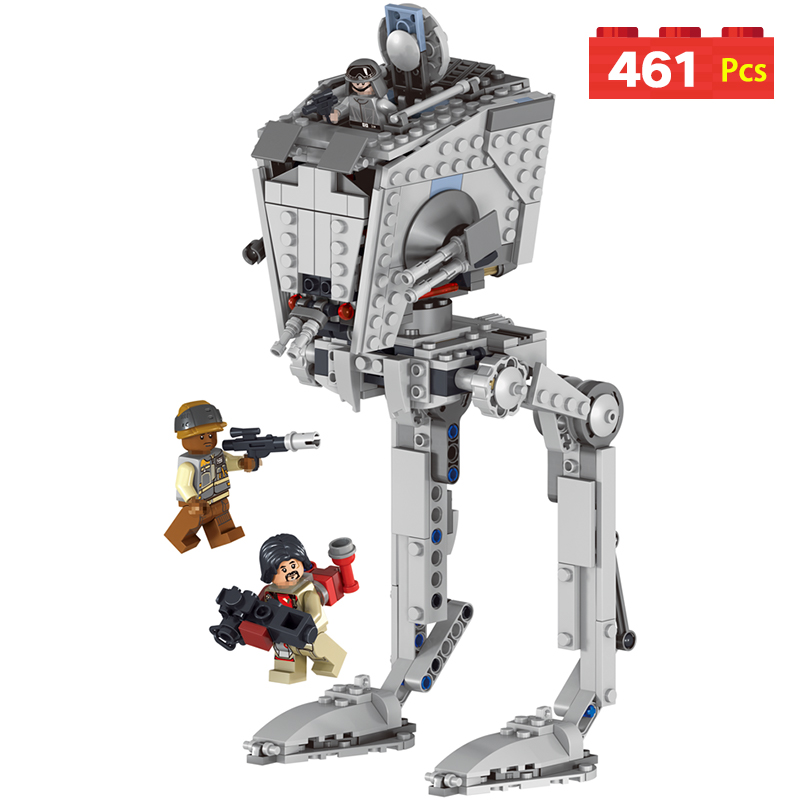 Walking Machine Star Wars Model Building Blocks Harmless Bricks Enlighten Compatible with LegoINGLYS Toy For Kids mostly harmless