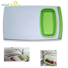 Wind flower Multifunctional Chopping Board Thickening Plastic Cutting Safe Boards Kitchen Tools
