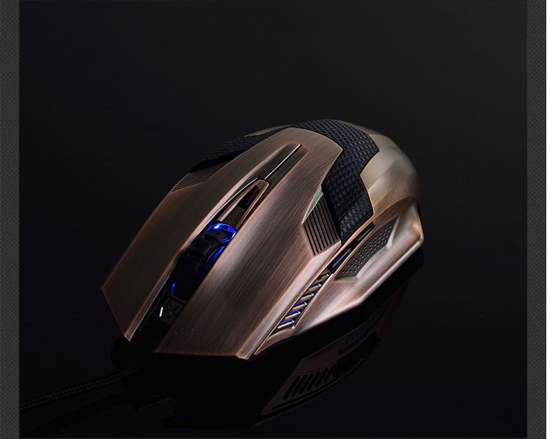 New Product Gaming Optical Mouse Computer USB Wired Gamer Professional Luminous Mice Ergonomic for PC Laptop 4