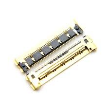 10ชิ้น/ล็อตแบรนด์ใหม่30 pinsโกลเด้นLCD LED LVDSช่องเสียบสายเคเบิลสำหรับMacbook Air A1370 A1369 A1465 A1466