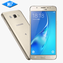 """Nouvelle D'origine Samsung Galaxy J5 (2016) J5108 4G LTE Mobile Téléphone 5.2 """"pouces 2 GB RAM 16 GB ROM Quad Core Snapdragon 410 3100 mAh"""
