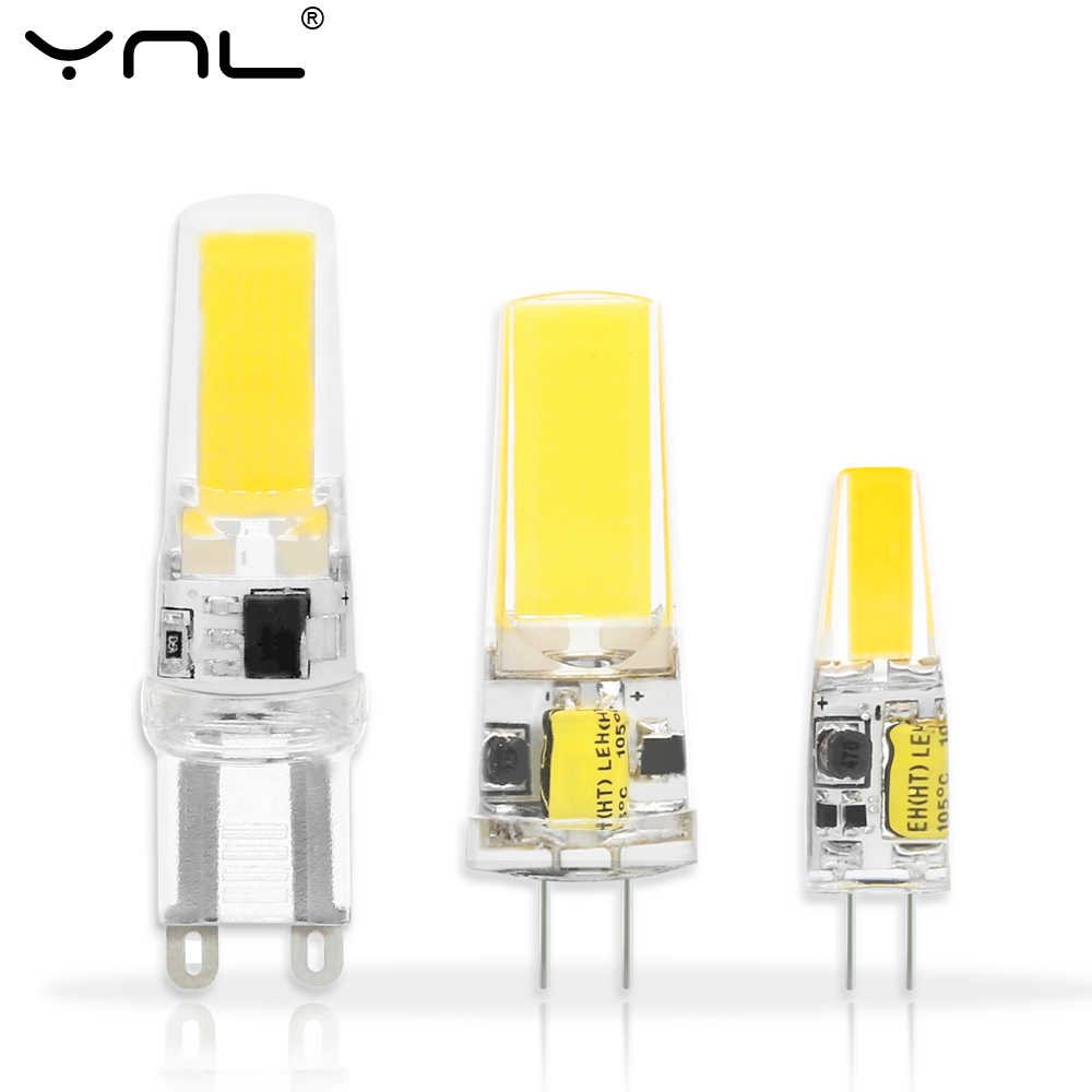 LED Lamp G4 G9 E14 AC / DC 12V 220V 3W 6W 9W COB LED G4 G9 Bulb for Crystal Chandelier Lights Replace Halogen Lamps Spotlight