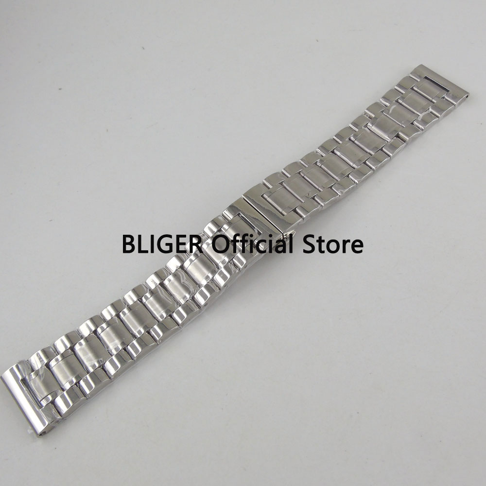 22mm Solid 316L Stainless Steel Bracelet Fit For 43MM SUB Men's Watch S2 цена и фото