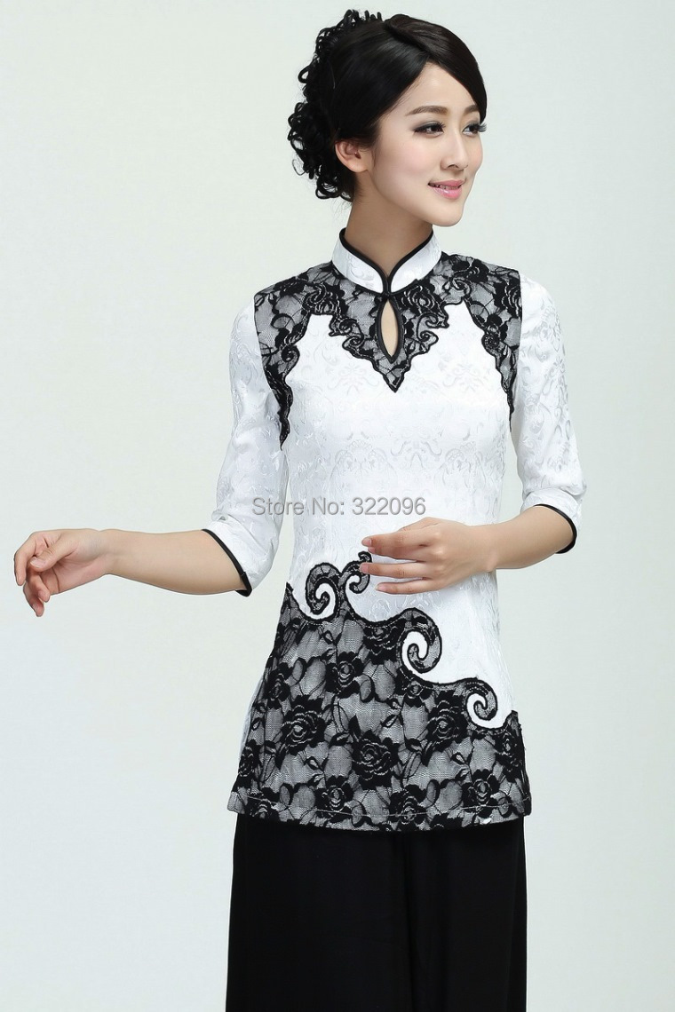 Shanghai Story Chinese Cheongsam Top For Sale Chinese Blouse