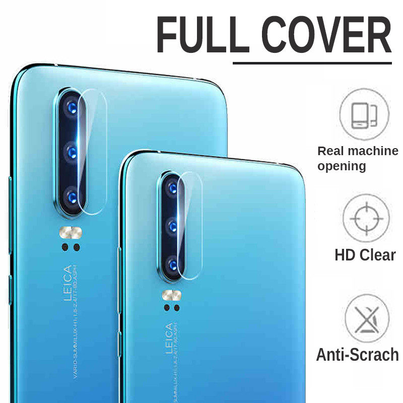 Image 5 - 2 in 1 Protective Glass For Huawei P30 P30lite Camera Screen Protector Tempered Glas For Huawei P 30 lite 30lite light Lens Film-in Phone Screen Protectors from Cellphones & Telecommunications