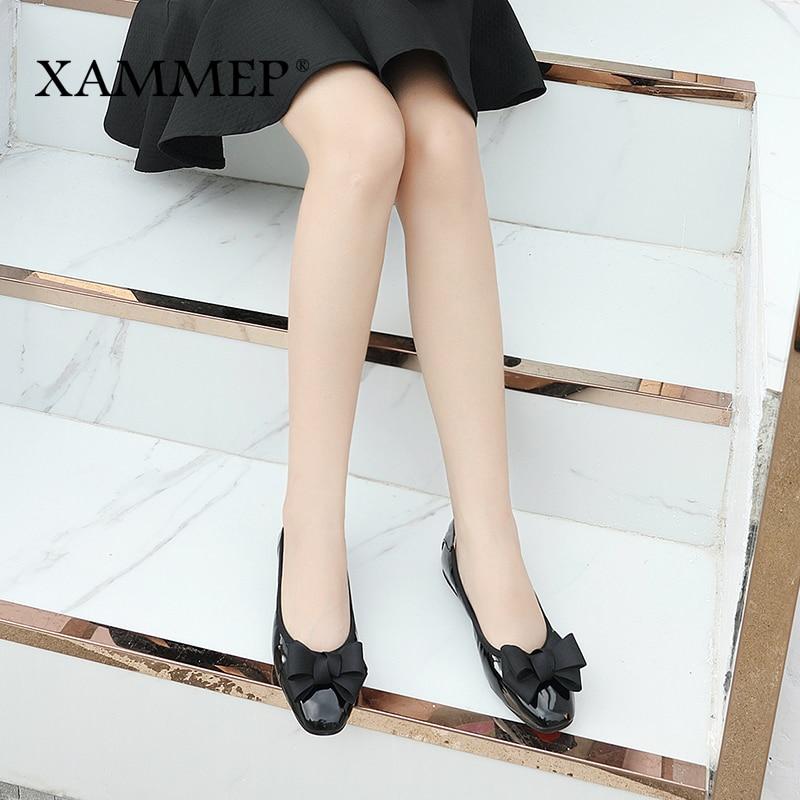Women Flats Brand Women Shoes Female ballet shoe Casual Shoes Soft PU Women Sneakers Round Toe High Quality Spring Autumn Xammep