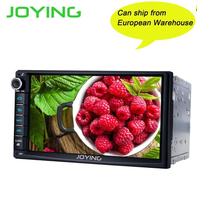 On Sale JOYING 2 DIN Android 8 1 car radio head unit stereo