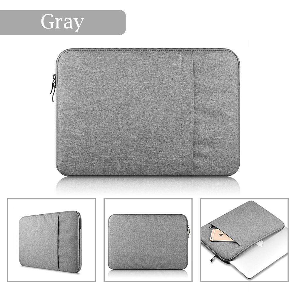 Nylon Notebook Laptop Sleeve Bag Pouch Case for Apple Macbook Air Pro Retina 11 13 14 15 Shockproof Waterproof Zipper Bag Case