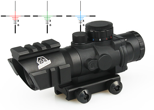 ФОТО New Arrival Tactical 4x32 Dual ill. Compact Scope Optic Sight For Hunting CL1-0233