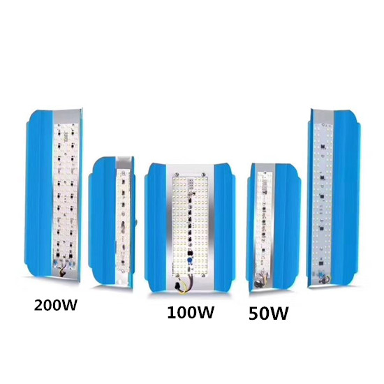 חדש LED COB 12 V 220 V 110 V LODINE טונגסטן 50 W 100 W 200 W 6500 K פנסי אור זרקור Refletor LED חיצוני תאורת מנורת Gargen
