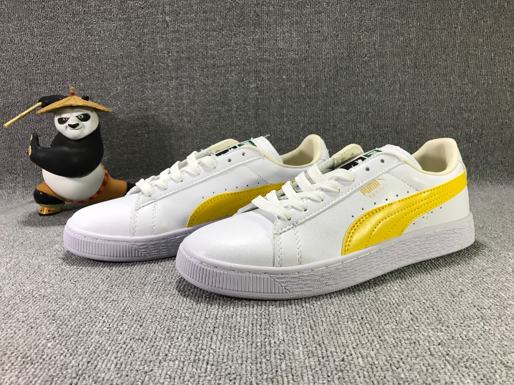 2017 Puma BASKET classic Campus bikini Series portable badminton shoes the new puma womens shoes classic high classic star high tongue series white leather laser badminton shoes
