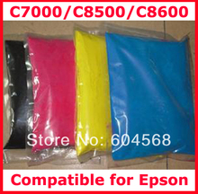 High quality compatible for Epson C7000/C8500/C8600/7000/8500/8600 color toner powder,4kg/lot,free shipping!