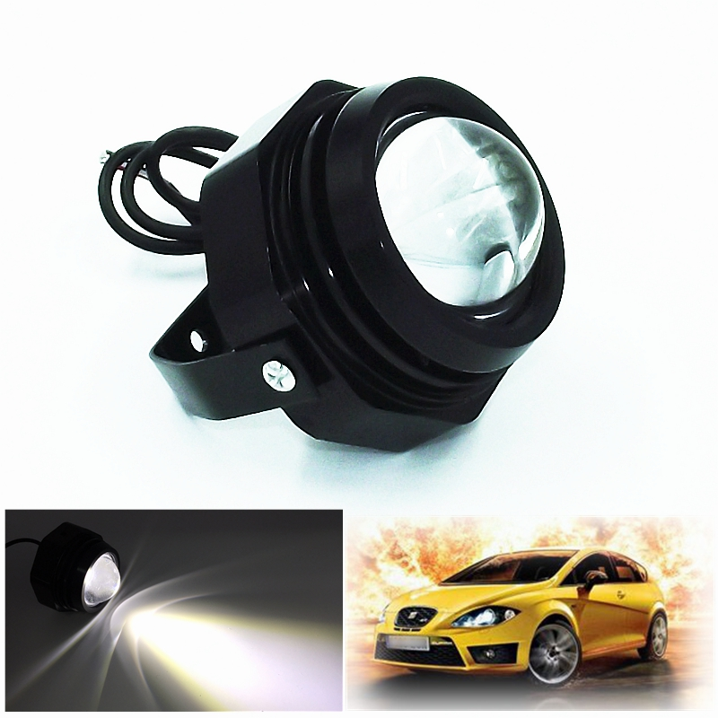 1Pcs/Set 50W 160LM LED Eagle Eye Whit Flash Daytime Running Light Car Styling Source DRL Warning Fog Lamps Waterproof Brake Lamp